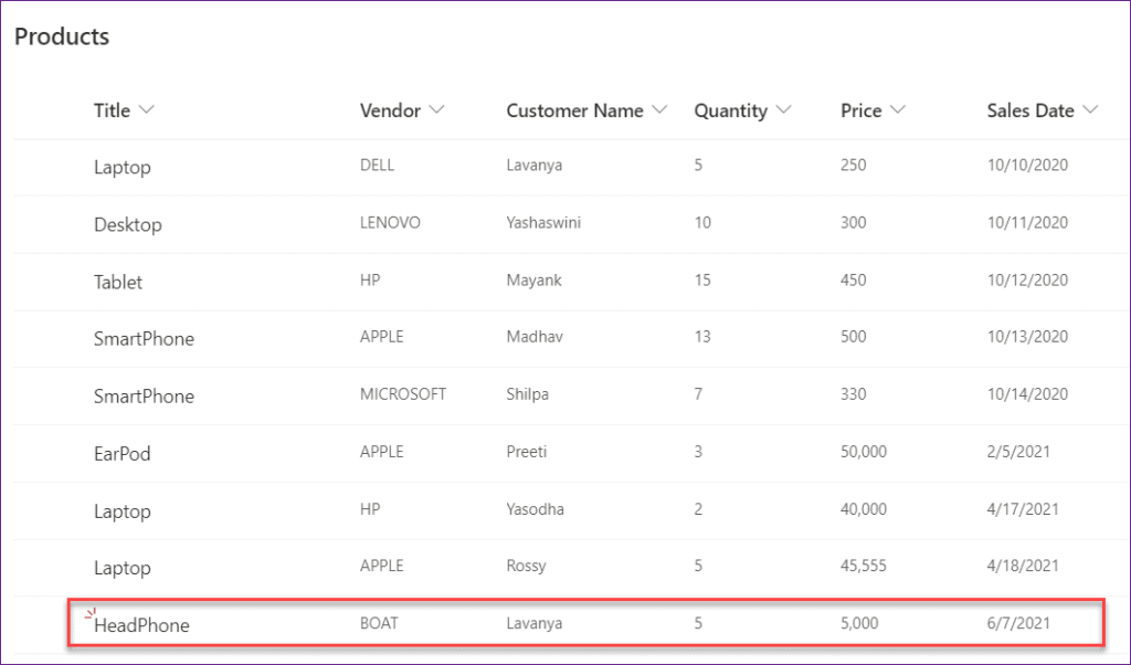 manual choice in Powerapps