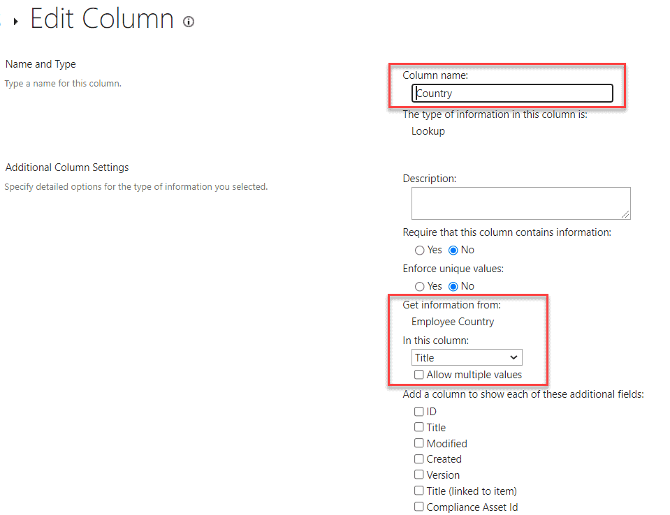 sharepoint cascaded lookup dropdowns