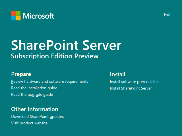 SharePoint Server Subscription Edition