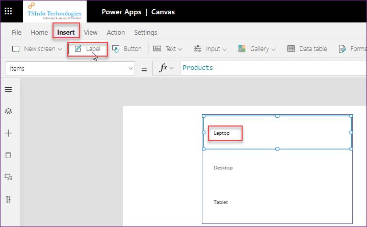 Power Apps gallery blank