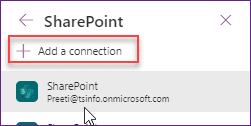 PowerApps Display SharePoint List Item