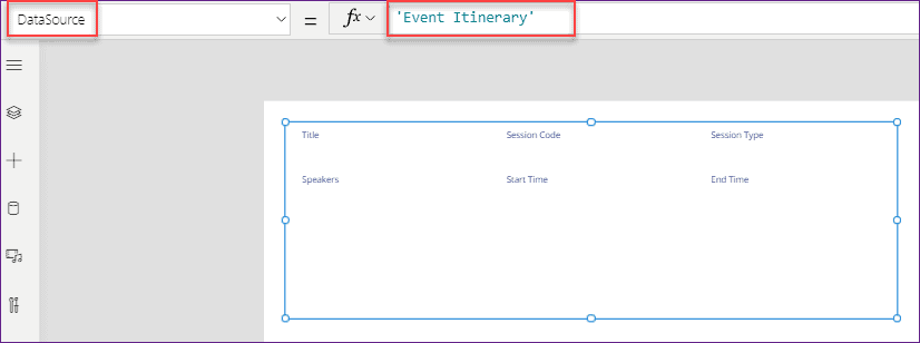 power apps display form using canvas app