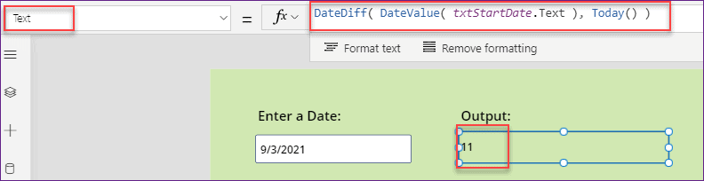 Power Apps Date Time format