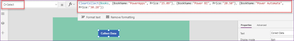 Power Apps Export Import Example