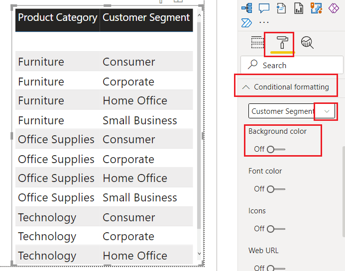 Power BI DAX Switch using multiple conditions
