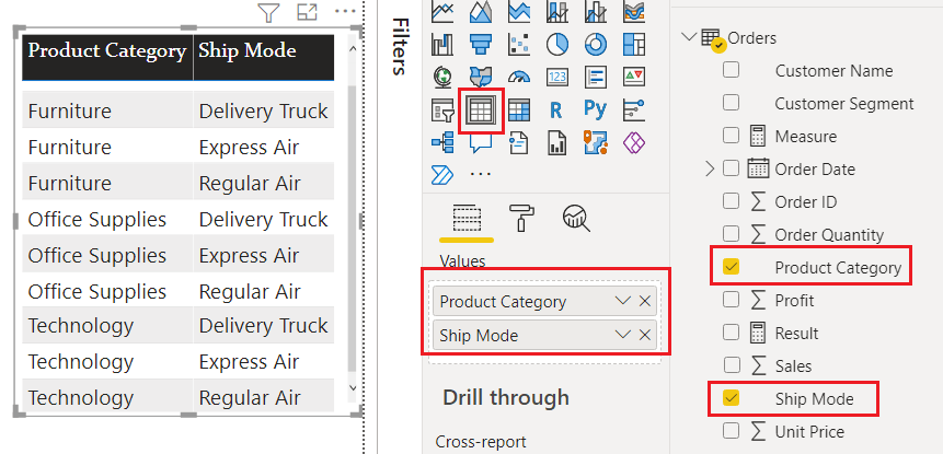 Power BI IF contains
