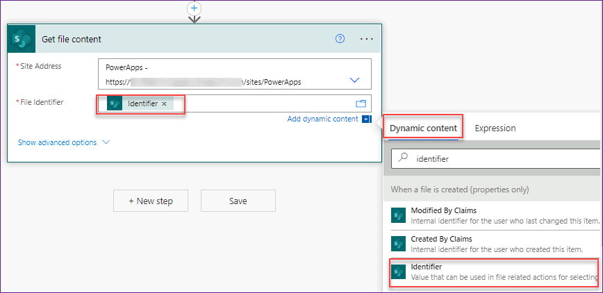 power apps pdf viewer sharepoint document library using flow