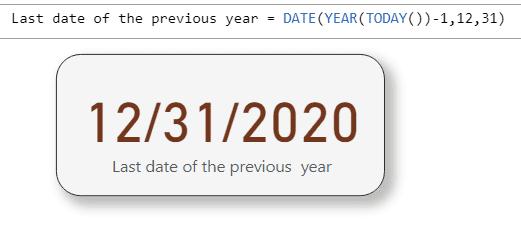 power bi last date of previous year